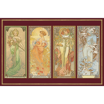 Mucha - 4 Seasons 557644