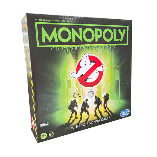 Monopoly, Ghostbusters electronic (ENG)